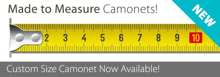 Made to Measure Custom Size Camonetting