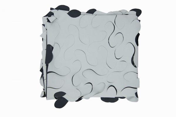 Light Grey/Charcoal Camo Netting