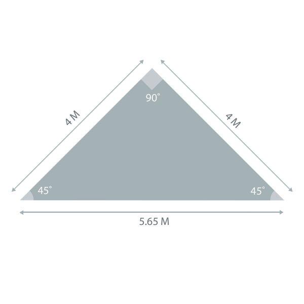 Triangle Sunshade 4m