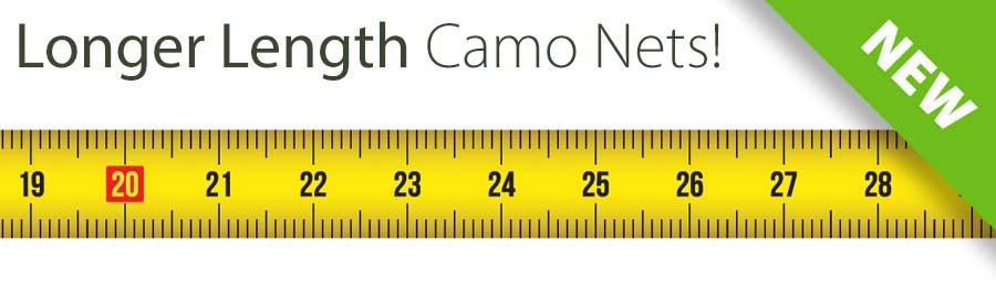 Longer Length Camo Nets